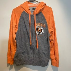 Women's Cincinnati Bengals Zip Up